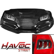 Yamaha G29/Drive HAVOC Street Body Kit in Black (Fits 2007-2016)