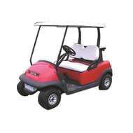 Club Car Precedent White OEM Replacement Top (Years 2004-Up) Beige Shown