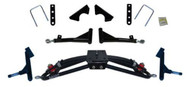"Jake's Double A-arm lift kit (4"" lift). Accepts up to 23x10.5-12 tire. Club Car G&E Precedent"
