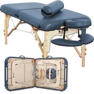 Custom craftworks Luxor Portable massage table-agate folded