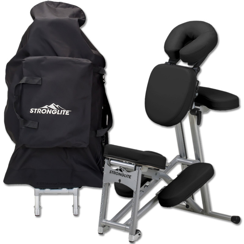 stronglite ergo pro ii portable massage chair package