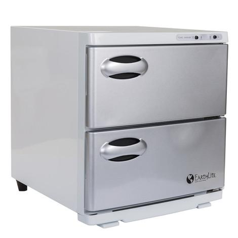 Earthlite Large Double Door UV Hot Towel Cabinet