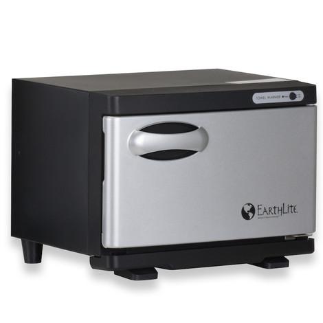 Earthlite Mini UV Hot Towel Cabinet - black