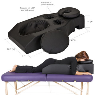 EarthLite Pregnancy Cushion and Headrest - collage