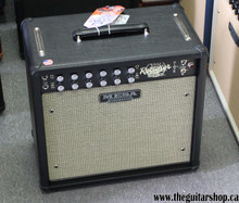 MESA BOOGIE RECTOVERB 25 BLACK WITH SALT AND PEPPER GRILLE