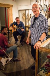 PAUL REED SMITH AND TONY MCMANUS VISIT TGS 2015