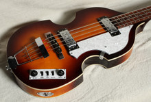 HOFNER IGNITION VIOLIN BASS SUNBURST WITH CASE