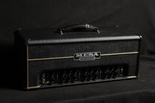 MESA BOOGIE TRIPLE CROWN CUSTOM BLACK BRONCO WITH GOLD PIPING