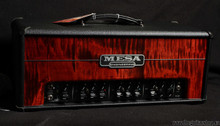 MESA BOOGIE TRIPLE CROWN CUSTOM BLACK BRONCO WITH FLAME MAPLE FRONT