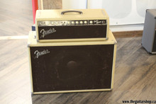 VINTAGE 1961 FENDER BANDMASTER HEAD AND CAB