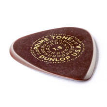 Dunlop Primetone Standard Sculpted Pick, 1.5mm, 3 Pack