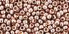TOHO Beads 8/0 Rounds #21 Permanent Finish Galvanized Sweet Blush 50g