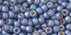 Toho Seed Beads 8/0 Rounds #116 Permanent Finish Frosted Metallic Polaris 20gm
