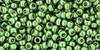 Toho Beads 11/0 Round #364 Permanent Finish Galvanized Sea Foam 20g