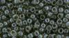 Toho Beads 8/0 Rounds #151 Transparent Lustered Smoke 20 gram