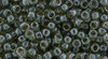Toho Beads 8/0 Rounds #151 Transparent Lustered Smoke 50 gram