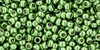 Toho Beads 11/0 Round Permanent Finish Galvanized Sea Foam 8 g.