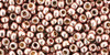 Toho Beads 8/0 Round Permanent Finish Galvanized Sweet Blush 8g