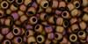 Toho Beads 8/0 Round #197 'Opaque Pastel Frosted Mudbrick' 50 gram