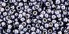 Toho Bead 11/0 Round #414 Permanent Finish Galvanized Gun Metal Gray 20g