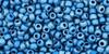 Toho Bead 11/0 Round #13 Higher Metallic Frosted Mediterranean Blue 20g