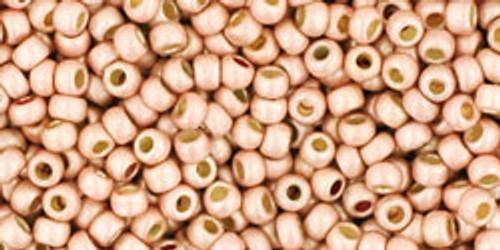 Toho Bead 11/0 Round #211 Permanent Finish Matte Galvanized Peach Coral 20g