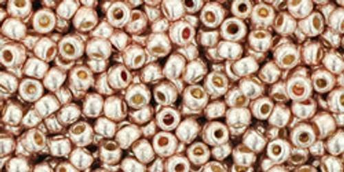 Toho Seed Bead 11/0 Round #234 Permanent Finish Galvanized Sweet Blush 20g