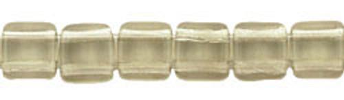 CzechMates 2-Hole 6mm Beads Black Diamond 25pcs