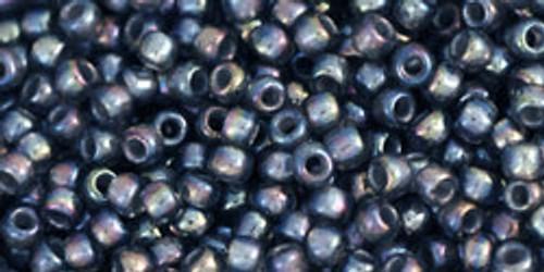 Toho Seed Bead 11/0 Round #278 In-Rainbow Gray/Opaque Grey Lined 20gm