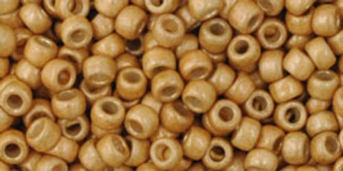 Toho Bulk Seed Beads 8/0 Rounds # 111 Permanent Finish Galvanized Matte Starlight 250g