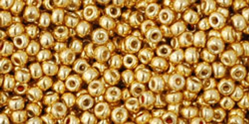 Toho Bulk Seed Beads 11/0 Rounds #100 Permanent Finish Galvanized Starlight 250 Gram Factory Pak