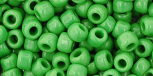 Toho Bulk Beads 6/0 Round #16 Opaque Mint Green 250g Factory Pak