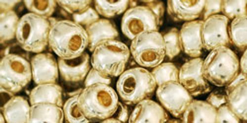 Toho Beads 6/0 Rounds #19 Permanent Finish Galvanized Aluminum 50g