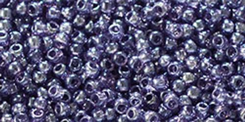 Toho  Bead 11/0 Round #367 Transparent Lustered Sugar Plum 20g