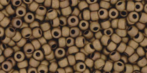 Toho Bulk Beads 11/0 Round #378 Matte Dark Copper 250g factory pak