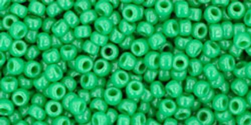Toho Bulk Beads 11/0 Round #379 Opaque Shamrock 250g Factory Pak
