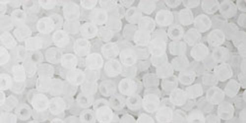 Toho Beads 11/0 Round #393 Ceylon Frosted Snowflake 20 gram