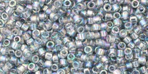 Toho Beads #1 Treasure #176 Transparent Rainbow Black Diamond 50g