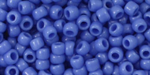 Toho Bulk Seed Beads 8/0 Round #195 Opaque Periwinkle 250 gram sack