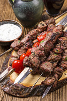 Bison Top Sirloin Steak Kabob Meat