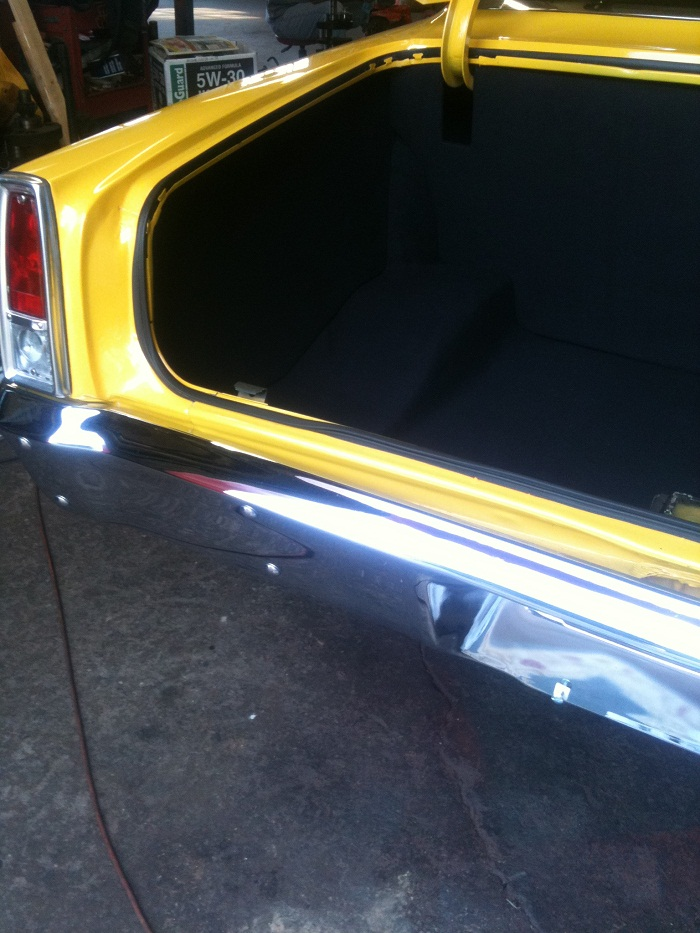1962 To 1967 Nova Chevy Ii Trunk Panel Kit W Carpet In