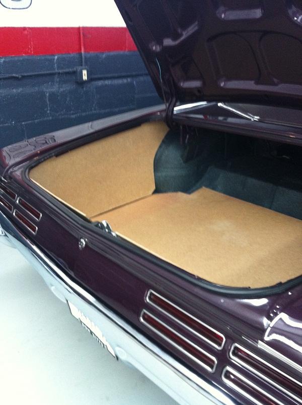 1966 1967 Pontiac Gto 1 4 Quot Cnc Cut Hardboard 5 Piece
