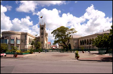 The Barbados Parliament where they are utilizing HTH Engineering's Start-Stop SuperFlow Continuous Conference Recording System