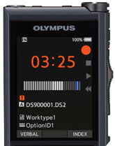 Olympus DS-9000 Brilliant color LCD