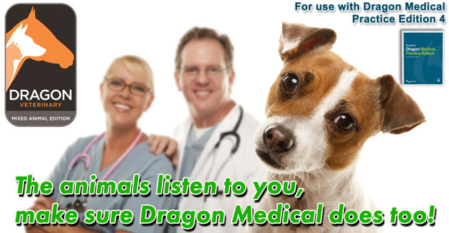 Dragon Medical Practice 2 can help with your Veterinary Practice Managment Software
