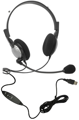 Andrea NC185VM USB Microphone headset