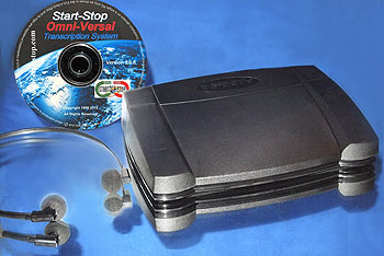 Start-Stop Omniversal DVD/Video/Audio Transcription System