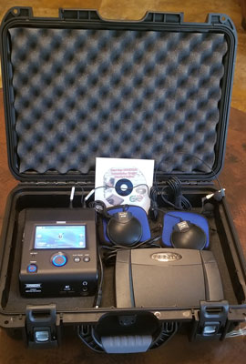 Start-Stop PUMA Secure Portable WIRELESS 8-Channel Conference Recording/Transcription System