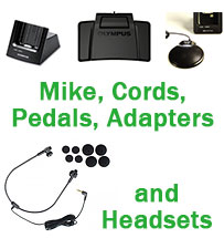 Mikes, Cords, Pedals, Adapters, Accessories
