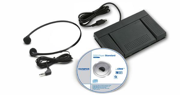 Olympus AS-2400 Digital Transcription Kit